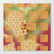 Grid & pattern Canvas Print