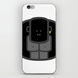 Iconic Animals of the JUNGLE and SAVANNAH: the Gorilla iPhone Skin