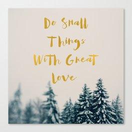 Great Love Canvas Print