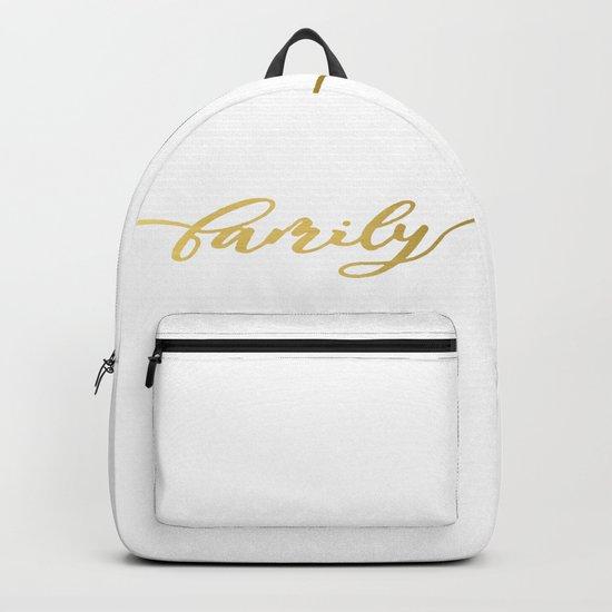 golden family Backpack