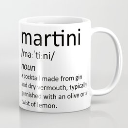 The cocktail series: 'martini' Coffee Mug
