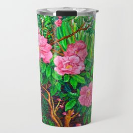 View of Rosa Rugosas (Moje Hammarberg) Travel Mug