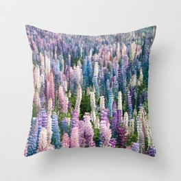 Colorful Snapdragons Throw Pillow