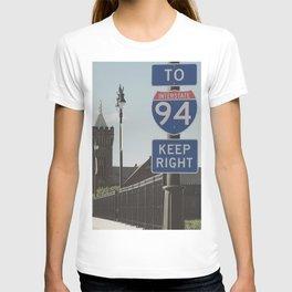 Light Rail City T-shirt