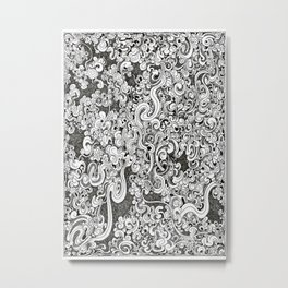 Tangle Metal Print