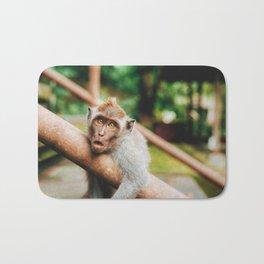 Cute Monkey (Color) Bath Mat