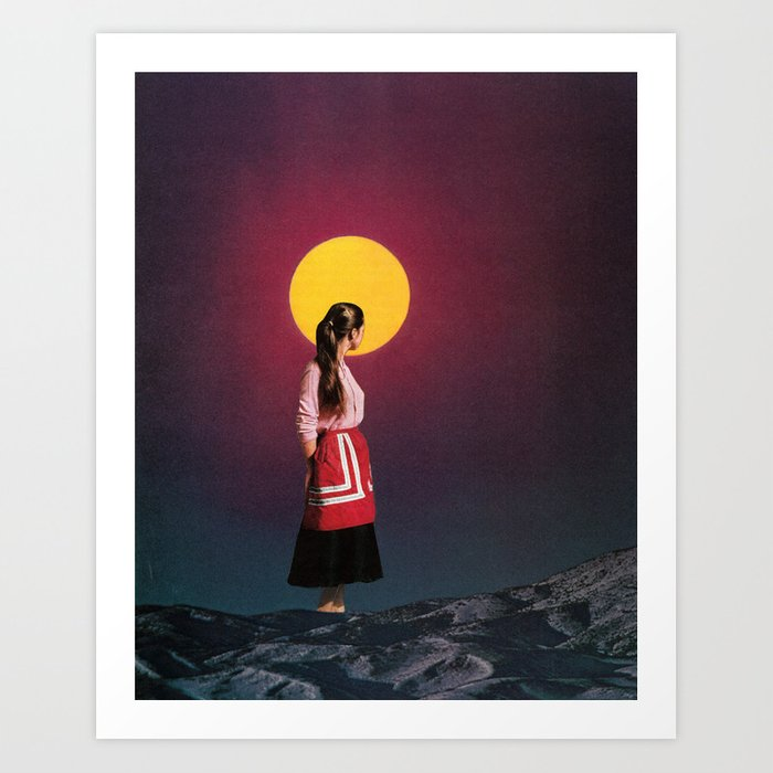 Discover the motif GOLDEN MOON by Beth Hoeckel as a print at TOPPOSTER