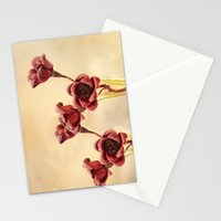 Ruby Red Stationery Cards
