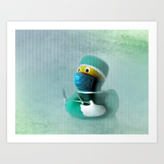Ready for takeoff? Art Print