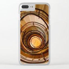 Blick nach Unten Clear iPhone Case
