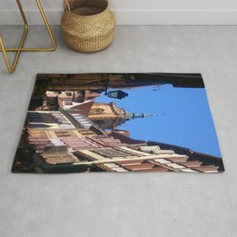 Beautiful Medieval City of Colmar Alsace France  Rug
