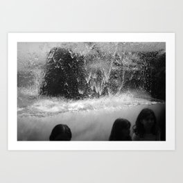Wave Room 1 Art Print