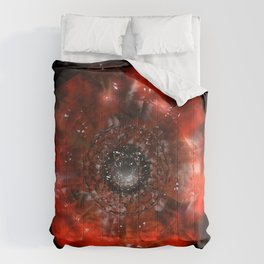 The Eye of Cyma: Fire and Ice - Frame 45 Comforters