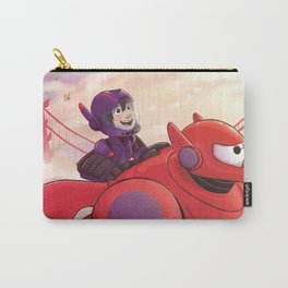 Flying With Baymax Sunset Carry-All Pouch