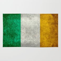 National flag of the Republic of Ireland - Vintage Version Rug