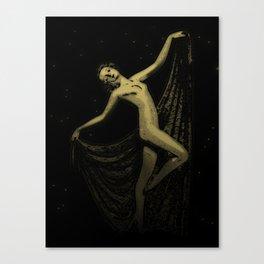 Deco Goddess Canvas Print