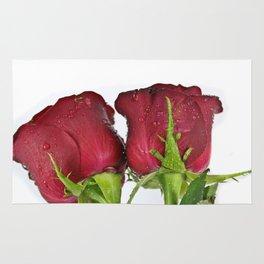 Rosewater Roses Rug
