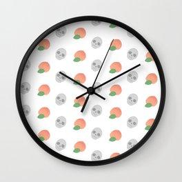 Peaches and DEATH Wall Clock