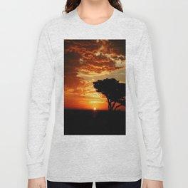 Fiery Dragon Long Sleeve T-shirt