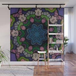 Fun with Coloring Mandala Style Wall Mural