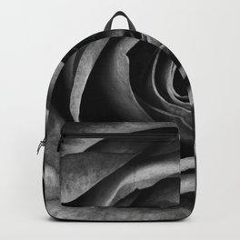 Black Rose Flower Floral Decorative Vintage Backpack