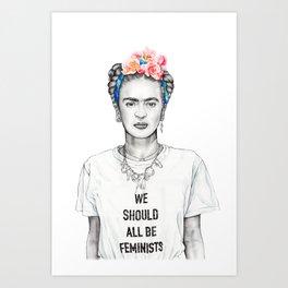 FRIDA KAHLO - The Ultimate Feminist Art Print