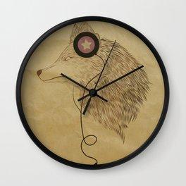 Woolfymusic Wall Clock