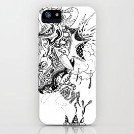 Ink Entanglement iPhone Case