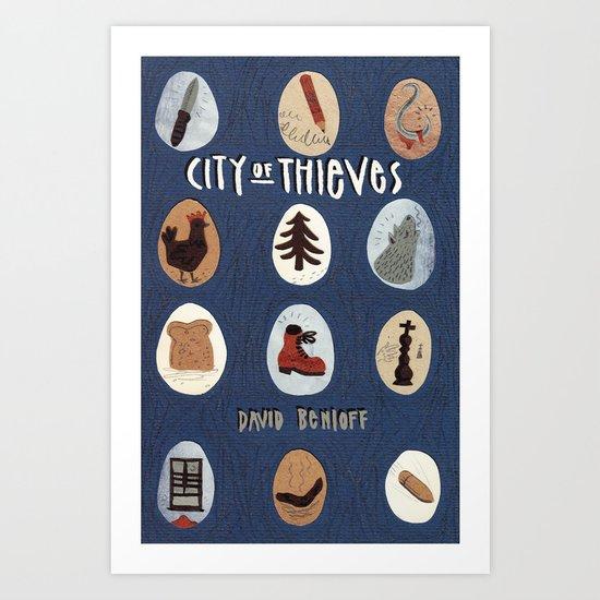 City of Thieves Art Print