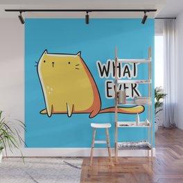 Whatever Cat Wall Mural