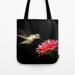 Hummingbird V Tote Bag