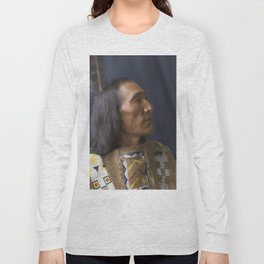 Little Dog - Brulé Lakota Sioux - American Indian Long Sleeve T-shirt