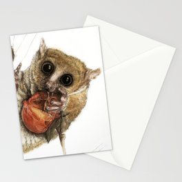 Munching Mouse Lemur Stationery Cards