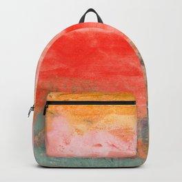 coral horizon Backpack