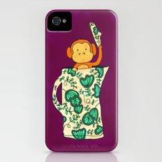 Dinnerware sets - Monkey in a jug iPhone (4, 4s) Slim Case