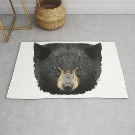 Black bear baby, bear, animals Rug