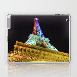 Eiffel Tower at Night Laptop & iPad Skin