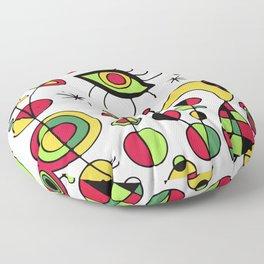 Joan Miro Peces De Colores (Colorful Fish ) Artwork for Posters Tshirts Prints Men Women Kids Floor Pillow