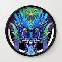 Stellar Dragon Wall Clock
