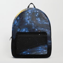 You are here: Milky Way map, Earth Backpack