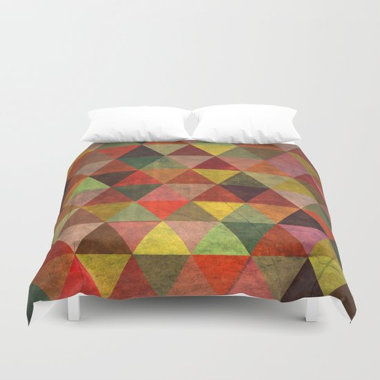 Abstract #335 Off My Meds Duvet Cover