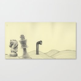The Waste Land (A Game of Chess Part 1) Canvas Print