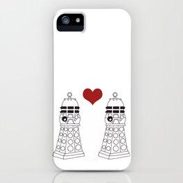 Daleks need love too iPhone Case