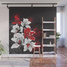 Rouge et Noir Wall Mural