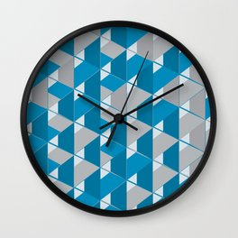 3D Lovely GEO Wall Clock
