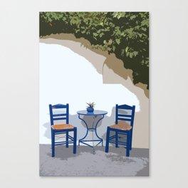 greek life Canvas Print