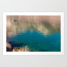 Convict Lake Anglers Art Print