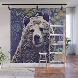 The Grizzly Bear Wall Mural