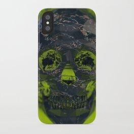 Skull Explotion iPhone Case
