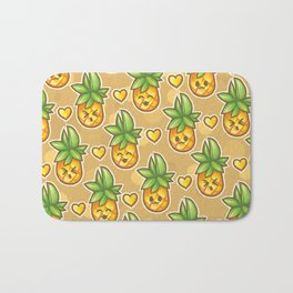 Pineapples on Repeat Bath Mat